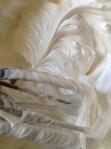 The beauty of uncooked meringue