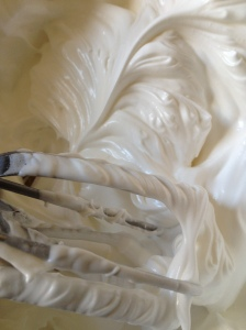 The beauty of uncooked meringue