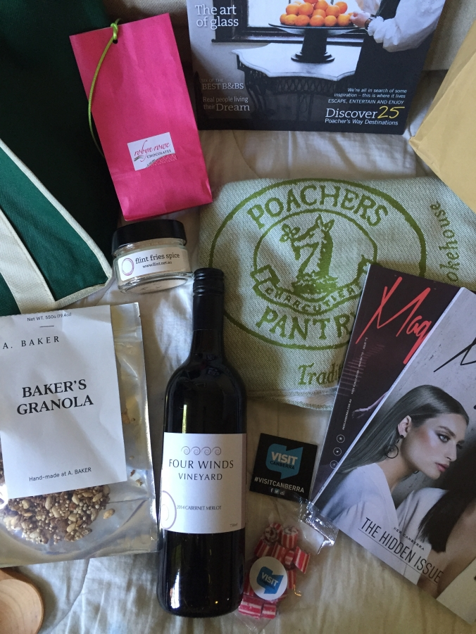 Eat Drink Blog 2015 goodie bag