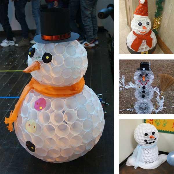 Plastic-Cup-snowman-2