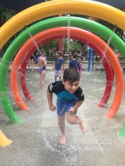 Last day of school holidays fun at Dickson Aquatic Centre