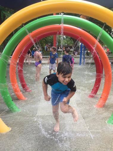 Last day of school holidays fun at Dickson Aquatic Centre