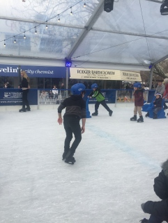 Took in the winter-wonderlandiness of Skate in the City at Garema Place
