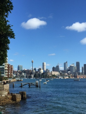 Sydney in Winter sparkles