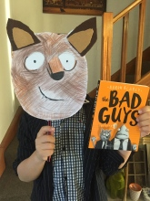 Book week costume. All you need is cardboard! #craftisfun
