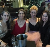 In Sydney for a pre-new year's eve outing. Dec 30 is the new Dec 31. No crowds! Here we are celebrating on the top floor (think it was 36th from memory) at Sydney's Shangri La hotel